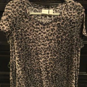 Chico's animal print T Shirt.